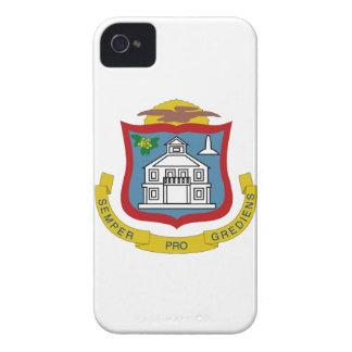 Sint Maarten Coat of Arms iPhone 4 Case-Mate Cases
