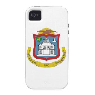 Sint Maarten Coat of Arms iPhone 4/4S Covers