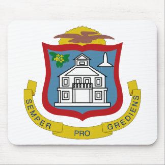Sint Maarten Coat of Arms Mouse Pad