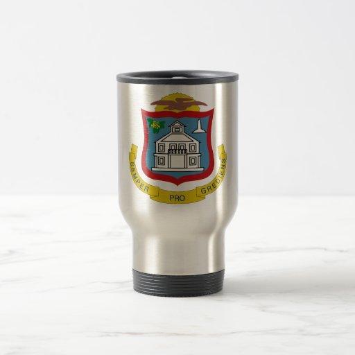 Sint Maarten Coat of Arms Mugs