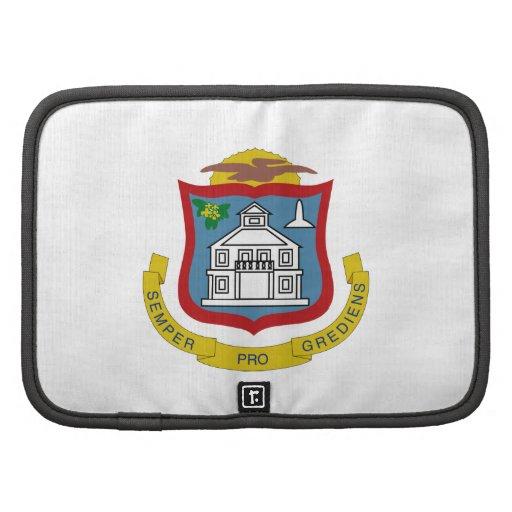 Sint Maarten Coat of Arms Folio Planner
