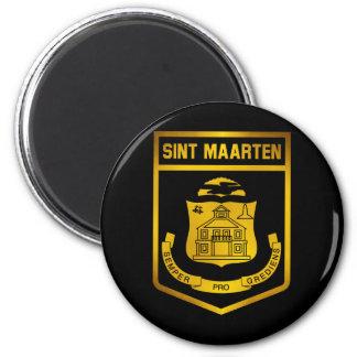 Sint Maarten Emblem Magnet