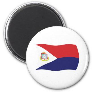Sint Maarten Flag Magnet