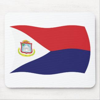 Sint Maarten Flag Mousepad