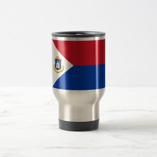 Sint Maarten Flag Mugs