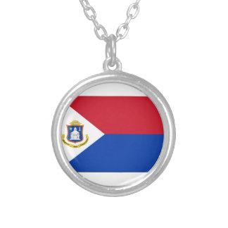 Sint Maarten Flag Necklace