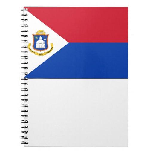 Sint Maarten Flag Note Book