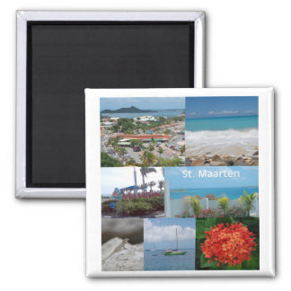 Sint Maarten-Saint Maarten Magnet Refrigerator Magnets