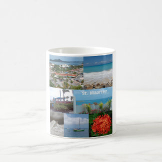 Sint Maarten-Saint Maarten Photo Collage Coffee Mug