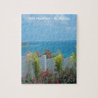 Sint Maarten - St Martin Oceanview Puzzle