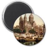 Sint Nicolaaskerk Amsterdam Refrigerator Magnet