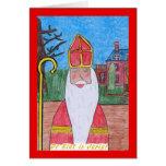 Sinterklaas #1 greeting card