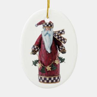 Sinterklaas Ceramic Ornament