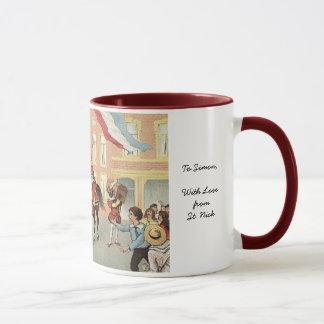 Sinterklaas Dutch St. Nick Vintage St. Nicholas Mug