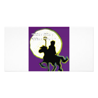 sinterklaas op paard card