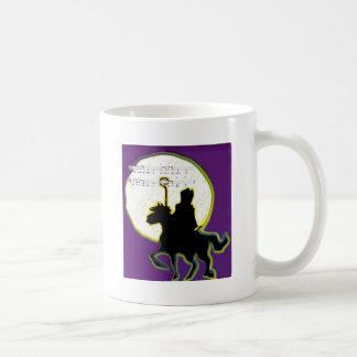 sinterklaas op paard coffee mug