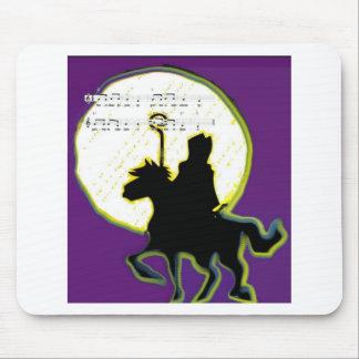 sinterklaas op paard mouse pad