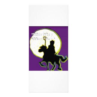 sinterklaas op paard personalized rack card