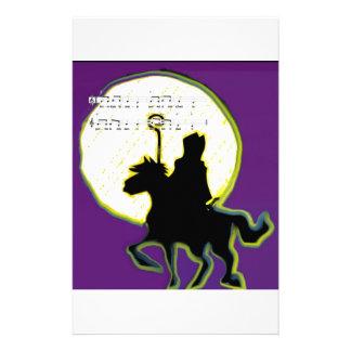 sinterklaas op paard stationery