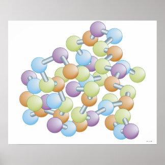 Síntesis de la proteína póster