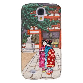Sintoísta y su arquitectura, capilla Kyoto de Yasa Funda Para Galaxy S4