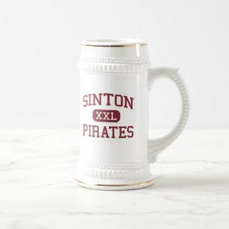 Sinton - piratas - High School secundaria - Sinton Jarra De Cerveza