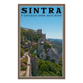 Sintra - Castle of the Moors Poster