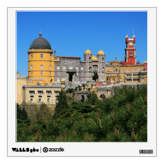 castle wall decals amp wall stickers zazzle disney princess castle wall stickers next day delivery