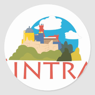 Sintra Classic Round Sticker