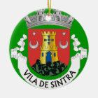 Sintra Portugal Christmas Ornament