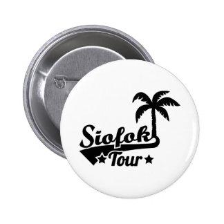 Siofok Tour 2 Inch Round Button
