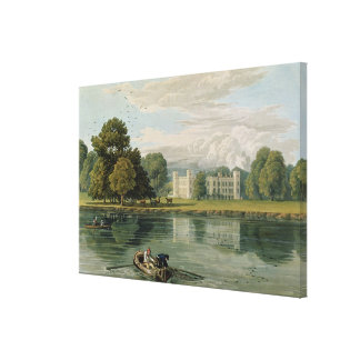 Sion House, engraved by Robert Havell (1769-1832) Canvas Print