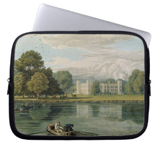 Sion House, engraved by Robert Havell (1769-1832) Computer Sleeve