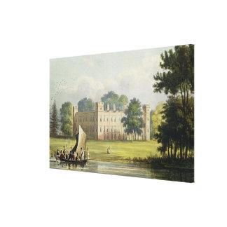 Sion house, from R. Ackermann's (1764-1834) 'Repos Canvas Print