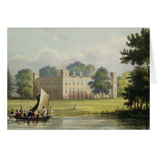 Sion house, from R. Ackermann's (1764-1834) 'Repos Greeting Card