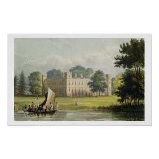 Sion house, from R. Ackermann's (1764-1834) 'Repos Poster