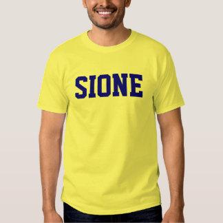 Sione nombró la camiseta playera