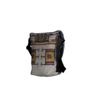 Sioux Beaded Bag Courier Bag