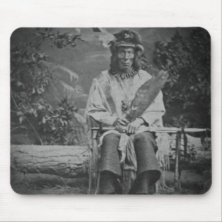 Sioux Chief Medicine Bear Vintage Mouse Pad