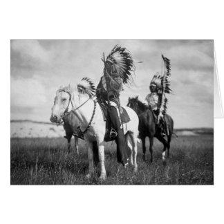 Sioux Chiefs, 1905 Card