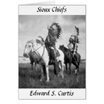 Sioux Chiefs, 1905 Greeting Cards