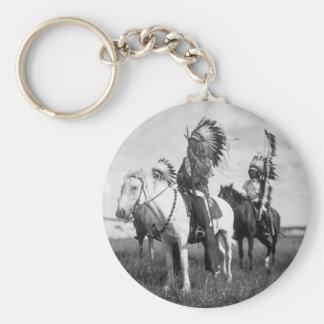 Sioux Chiefs, 1905 Basic Round Button Keychain