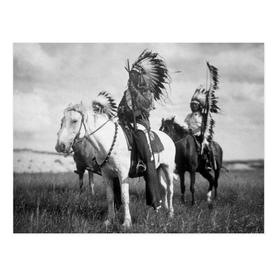 Sioux Chiefs, 1905 Postcard