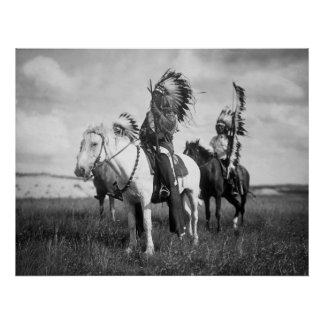 Sioux Chiefs: 1905 Poster