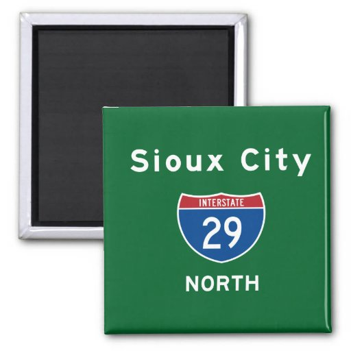 Sioux City 29 Refrigerator Magnet