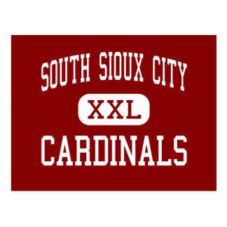 Sioux City del sur - cardenales - Sioux City del Tarjeta Postal