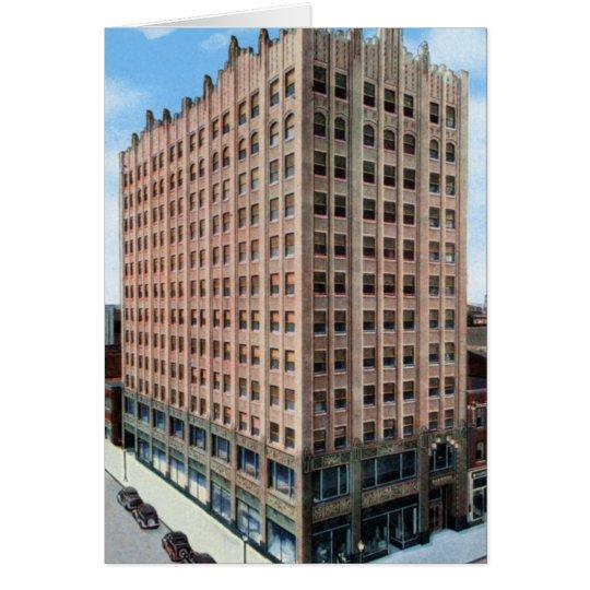 Sioux City Iowa Badgerow Building Card