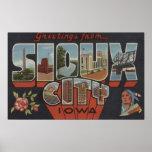 Sioux City, Iowa - escenas grandes de la letra Posters