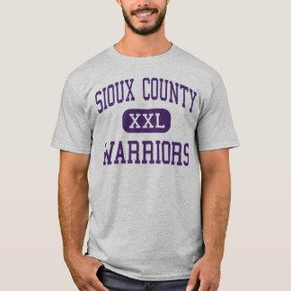 Sioux County - Warriors - High - Harrison Nebraska T-Shirt