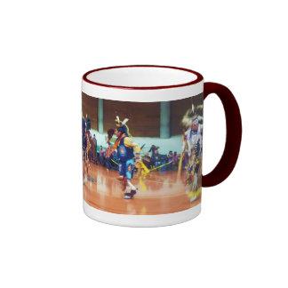 Sioux Dancers Ringer Coffee Mug